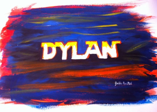 Dylan Painting Step 3 by Julie Rustad