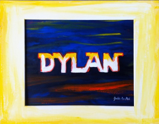 Dylan Painting Finished by Julie Rustad