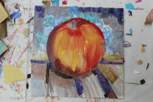 """Sedona Apple"" - Stage 1 by Julie Rustad"