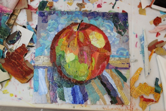 """Sedona Apple"" - Stage 4 by Julie Rustad"