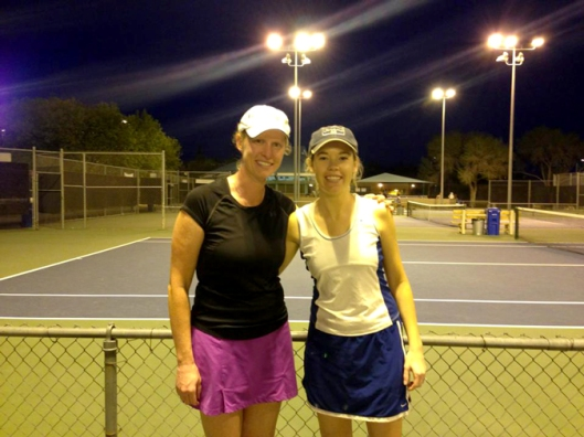I still play tennis today. I'm in a Womens League in Tucson, AZ