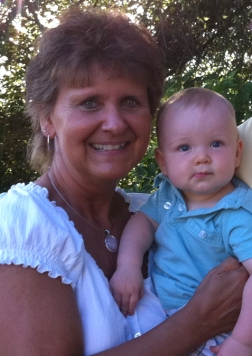 Grandma Sandi and Syver