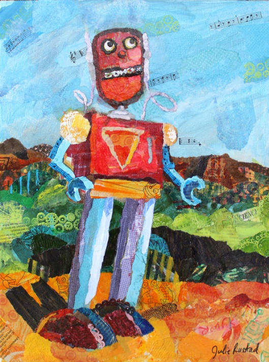 """Tom the Robot"" by Julie Rustad"