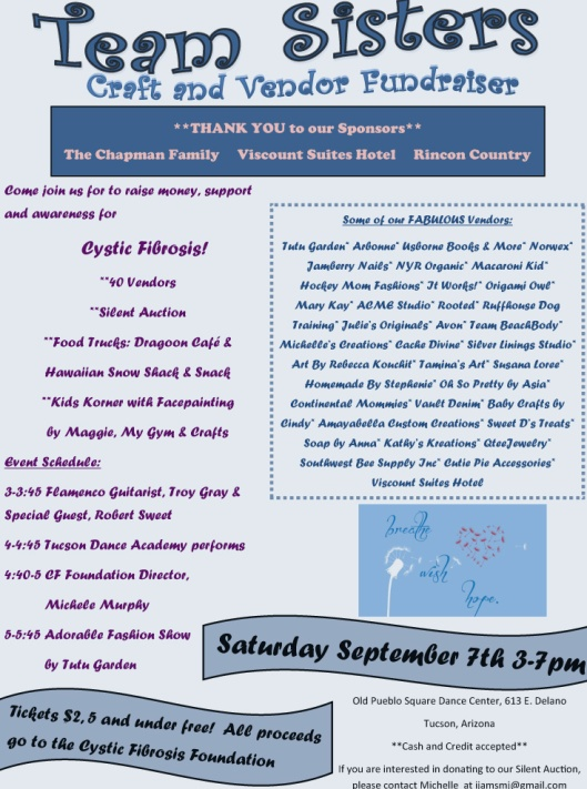 Team Sisters Craft & Vendor Fundraiser