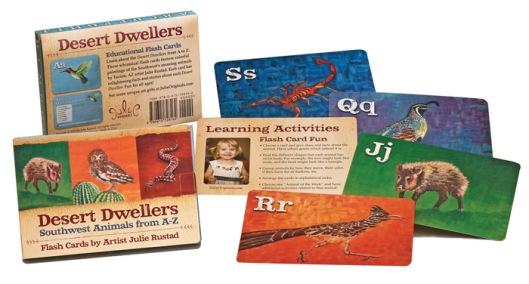 desert animal flash cards for kids