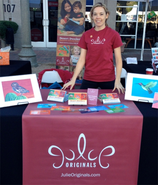 Julie Originals at  Tucson FEstival of Books